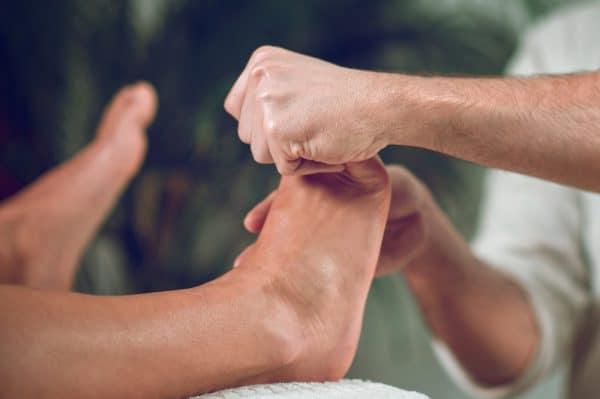 Relaxing Foot Massage