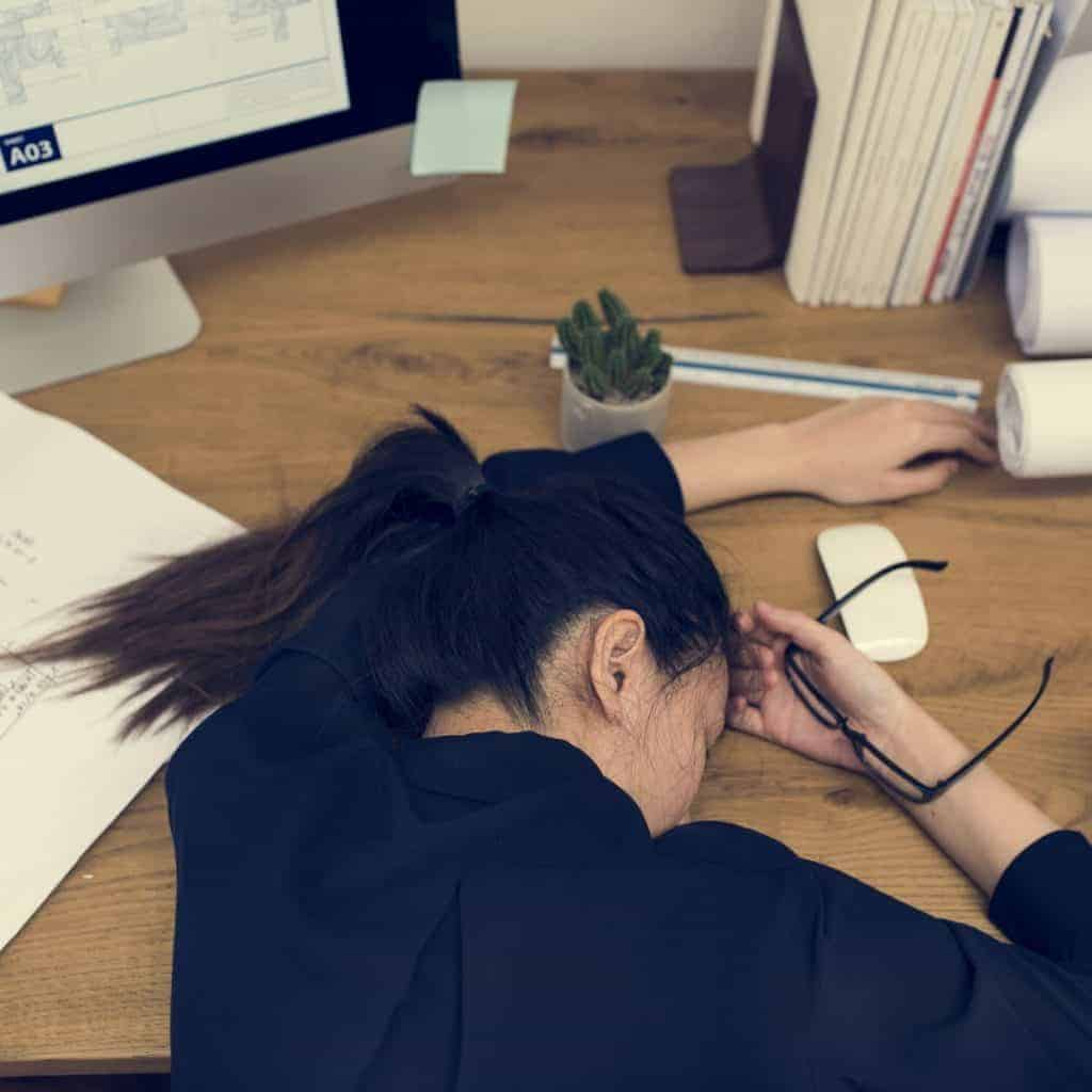 Zu viel Stress im Leben
